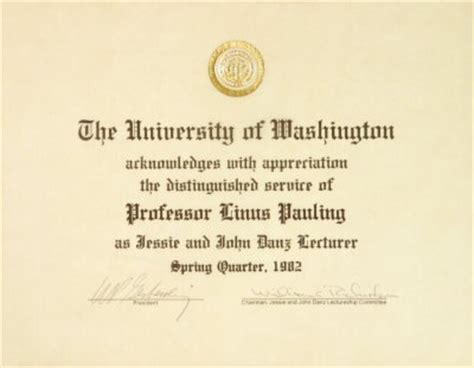 Mba Honors Subjects by Of Washington And Danz Lecturer