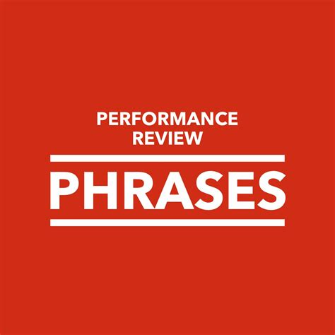 performance review phrases performancereviewsnet