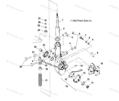 polaris ranger  parts diagram reviewmotorsco