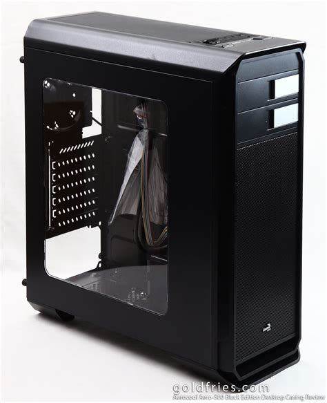 Casing Black aerocool aero 500 black edition desktop casing review