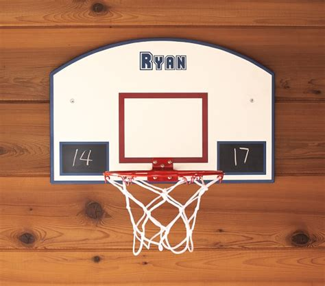 basketball hoops for rooms personalizable basketball hoop pottery barn