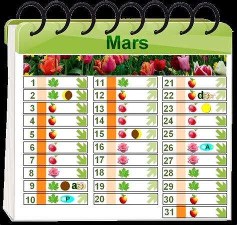 Calendrier Lunaire Mars Avril 2016 Gerbaud Jardiner Avec La Lune 2016 Calendrier Lunaire