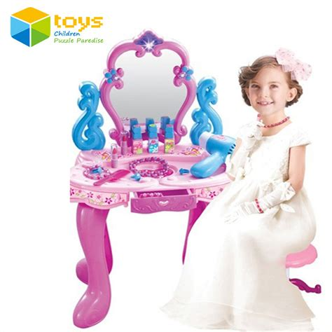 Vanity Playset by Aliexpress Buy Plastic Pretend Play Children Vanity