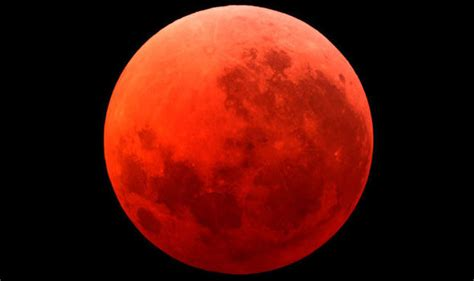 Moon Bloody Moon live the quot end of the world blood moon from comfort
