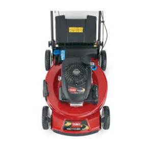 lawn mower home depot toro toro personal pace recycler 22 in honda gcv160 variable