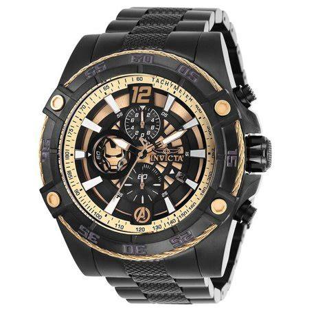 invicta invicta marvel iron man avengers rose gold dial