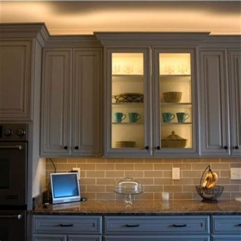 over kitchen cabinet lighting over cabinet lighting how to design kitchen lighting
