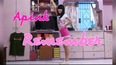 tutorial dance apink remember apink 에이핑크 remember dance cover snowieenov youtube