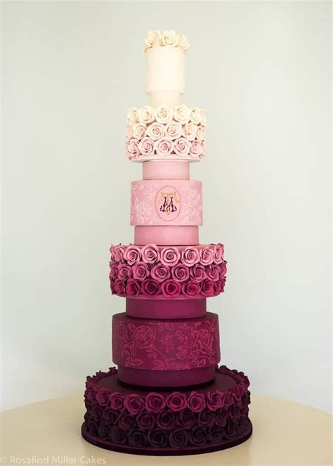 Wedding Cake by 17 Pretty Wedding Cakes We Re Drooling