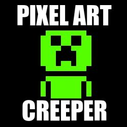 meme personalizado pixel art creeper 17887958