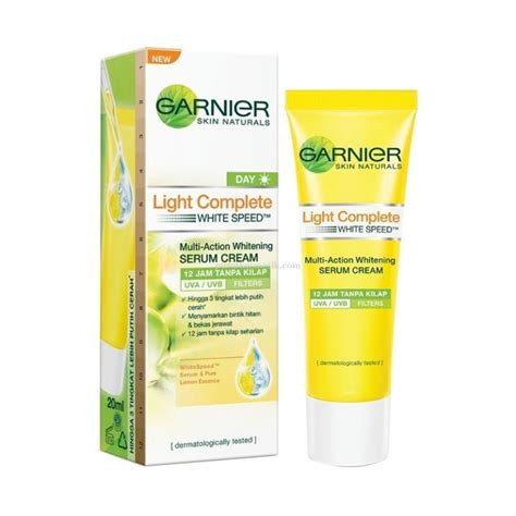 Wajah Garnier garnier garnier light complete white speed multi whitening 12