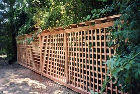 Trellis Fence Ideas Cheap Lattice Fence Ideas S Redwood Fences Custom