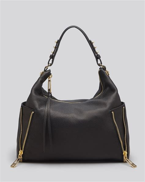 Botkier Black Ruched Hobo by Botkier Hobo Leroy In Black Lyst