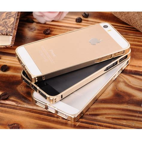 Iphone 5 5s Tosca ultra thin aluminium metal bumper single color for