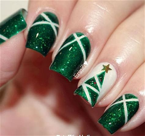 18 christmas tree nail art designs ideas 2016 xmas