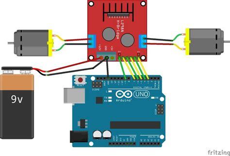 tutorial l298n arduino l298n based motor driver module 2a robu in indian