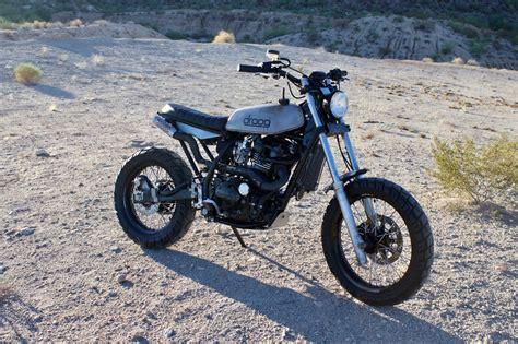 Kawasaki Traker kawasaki klr650 tracker by droog moto bikebound