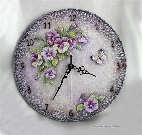 Decoupage Clock - decoupage clock szukaj w hobi