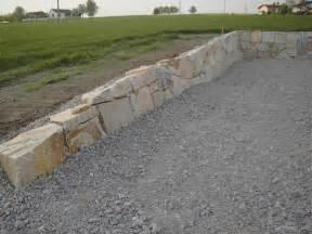 mauer bauen garten kosten steinmauer selber bauen loveer garten