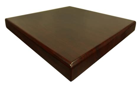 square table top mahogany resin 36 x 36 square indoor table top ttrs3636mh restaurantfurniture4less