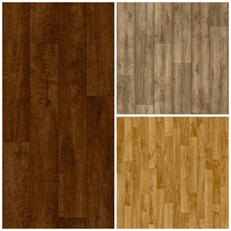wood laminate effect vinyl flooring brand new cheap lino cushion floor 3m ebay