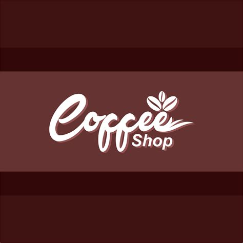 design logo for coffee shop coffee shop logo design free vector vectorpic