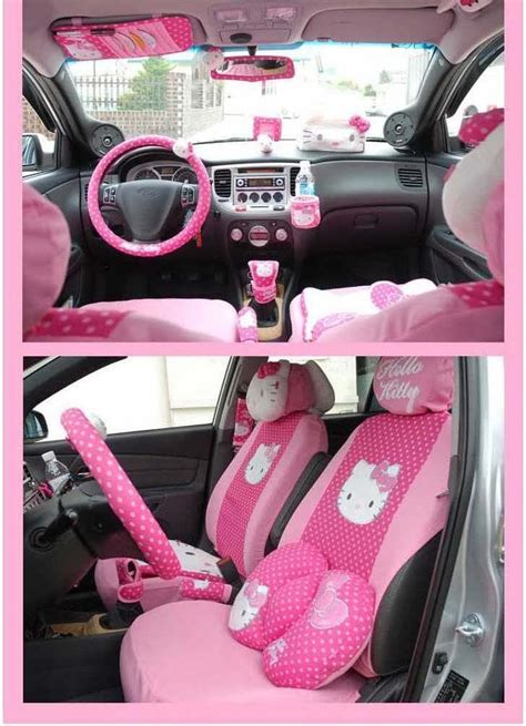 pink car interior hello kitty pink car accessories pictures