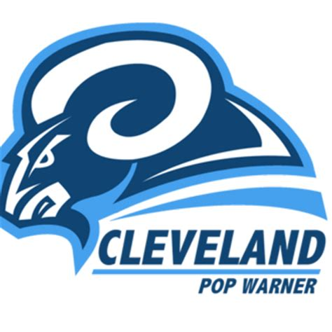 rams cleveland cleveland pop warner cpwa rams