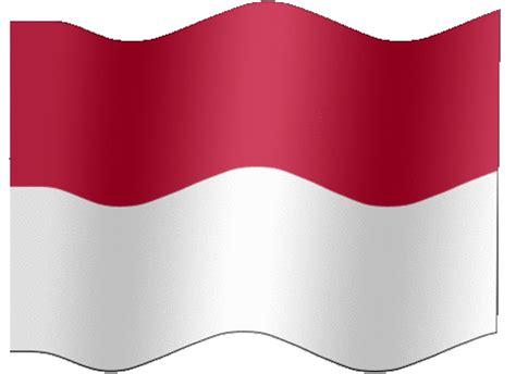 Indonesia Bergerak flags gambar animasi bendera indonesia