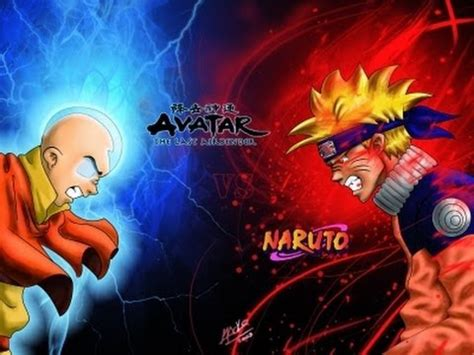 naruto vs aang: who would win youtube