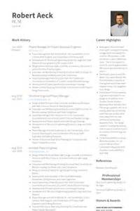 Structural Engineer Resume by Statiker Cv Beispiel Visualcv Lebenslauf Muster Datenbank