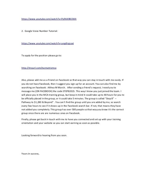 Response Letter For Advertisement Mca Craigslist Ad Reply Letter 02 18 2015