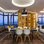a quot smart quot penthouse in kiev is the perfect party pad smart penthouse bachelor pad in kiev idesignarch