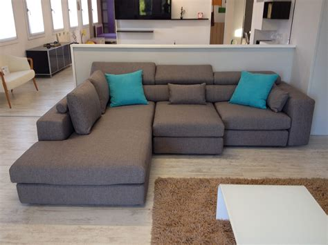 divani con chaise longue prezzi divano lecomfort 3 posti con chaise longue tessuto 23