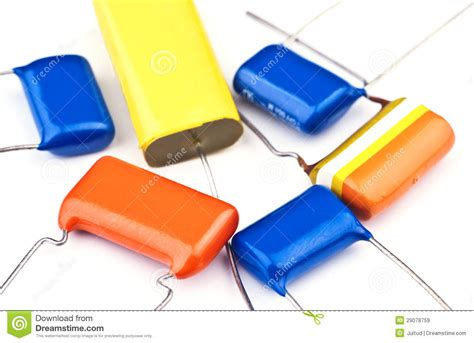 what is capacitor in electronic new electronic capacitor royalty free stock images image 29078759