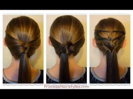 quick and easy hairstyles in a ponytail 3 easy hairstyles