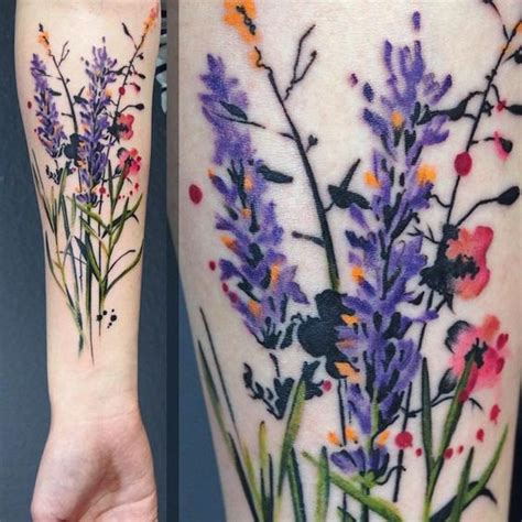 heather flower tattoo designs 35 beautiful watercolor floral designs amazing