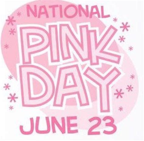 national color day it s national pink day creating with