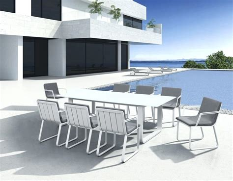 White Patio Furniture Sets White Aluminum Patio Furniture Set Bangkokbest Net
