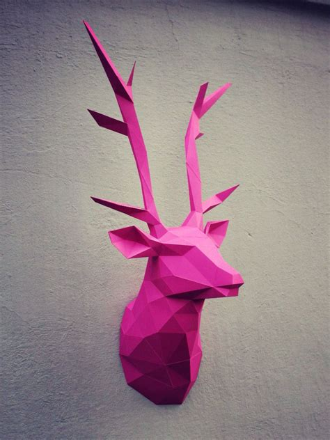 Papercraft Deer - papercraft deer on behance