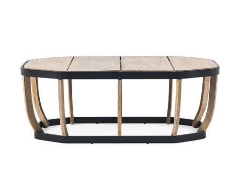 swing side table swing low coffee table by ethimo design patrick norguet