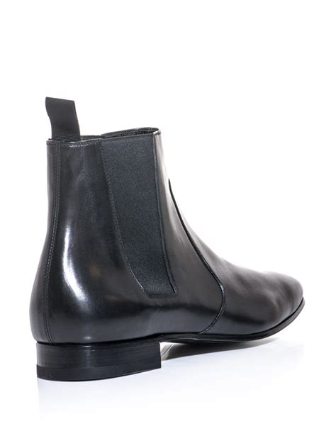 laurent leather chelsea boots for cofov