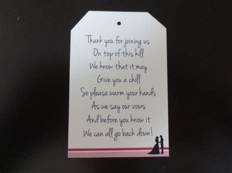 thank you poem for bridal shower favors wedding favor wording ideas myideasbedroom