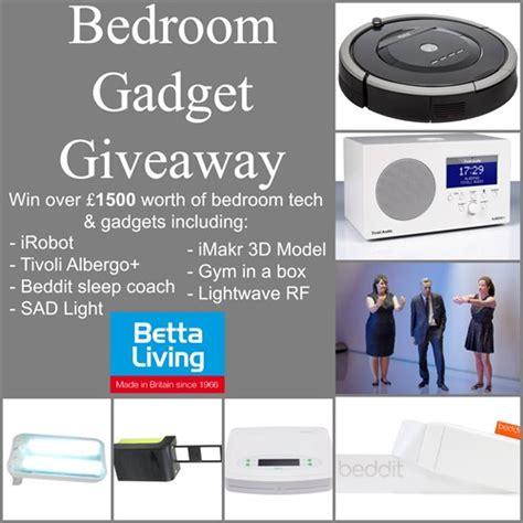 bedroom gadgets uk bedroom gadget giveaway betta living