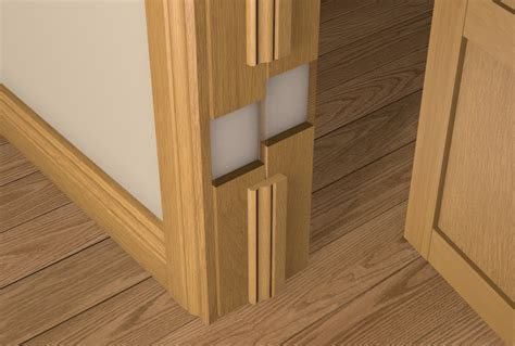 How To Fit Door Lining by 12 X 107 Pre Varnished Oak Solid White Oak Faced Door