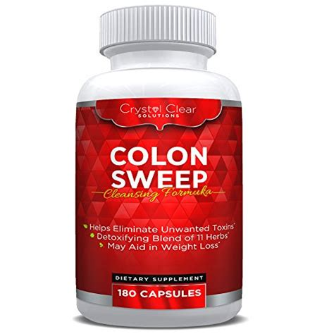 What Do Detox Pills Do To You by Gentle Colon Cleanse Detox Pills 180 Caps