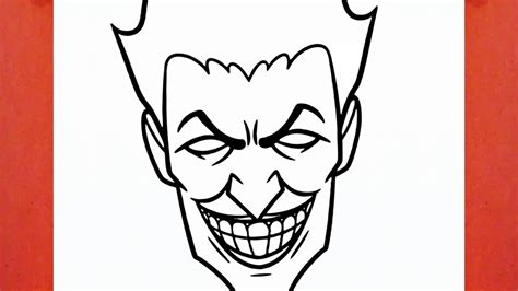 imagenes del joker para dibujar comment dessiner joker youtube
