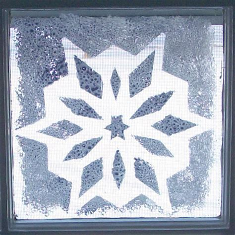 snowflake stencils for windows how to stencil snowflakes on windows friday s crafts