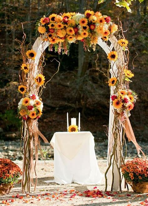 wedding ideas for fall 23 best fall wedding ideas in 2017