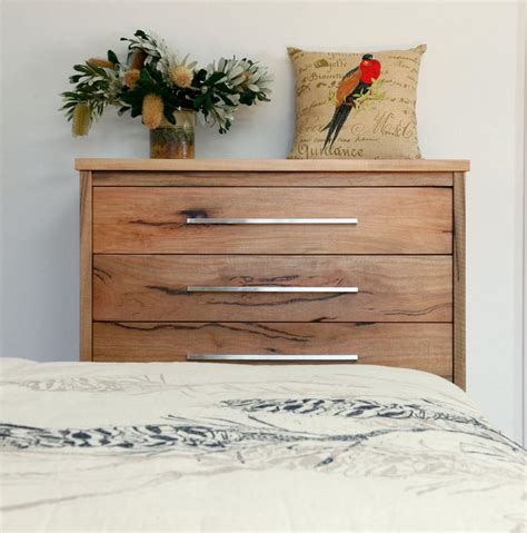 Lowline Bedroom Drawers Boranup Solid Marri Bedroom Furniture Suite Timber Bed
